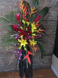 Tropical Easel ~$195.00~Item~F195